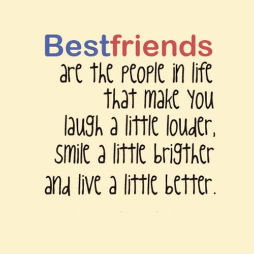 Best Friend Quotes – Quotes And Humor