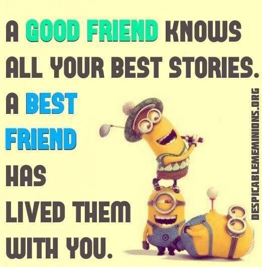 Best 30 Minions Best Friend Quotes #Funnies #Humor