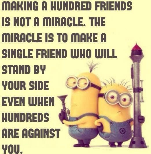 Best  Minions Best Friend Quotes Funny Friendship