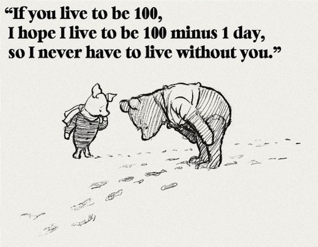 Top 25 Heart Touching Winnie the Pooh Quotes #Heart