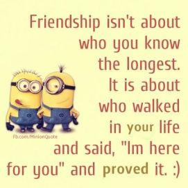 Top 30 Funny Minions Friendship Quotes #Very #Funny
