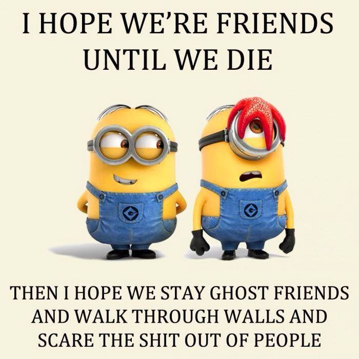 Top 30 Funny Minions Friendship Quotes #besties