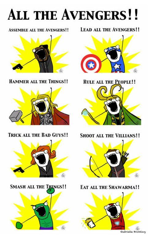 Top 30 Funny Marvel Avengers Memes #meme