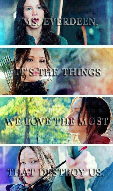 30 hunger game quotes katniss #image