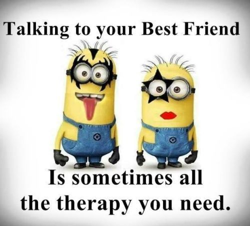 Top 30 Famous Minion Friendship Quotes #Bestie