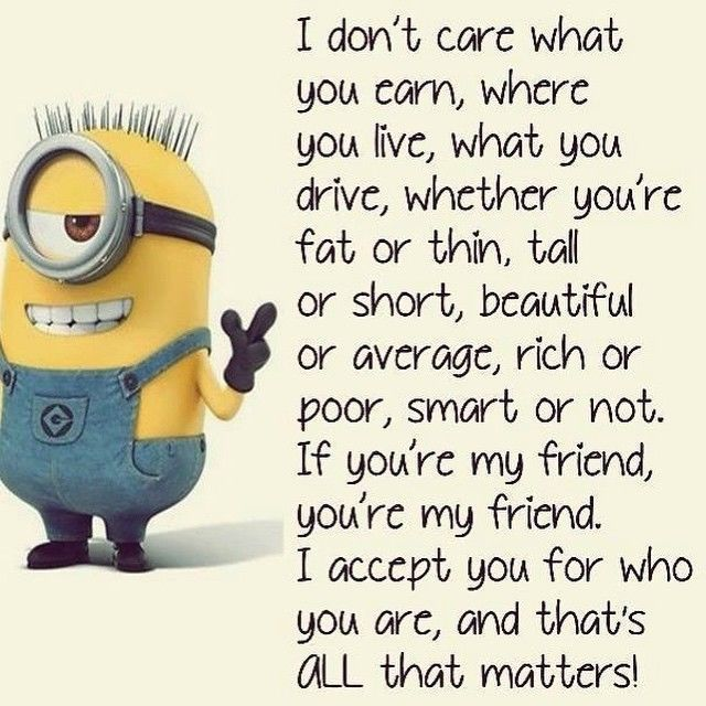 Beautiful Top 30 Famous Minion Friendship Quotes #Friendship Minions