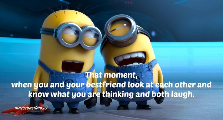 Top 30 Famous Minion Friendship Quotes #best friends