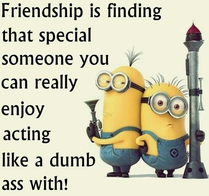 Some Special Quotes About Friendship Captivating Top 30 Famous Minion Friendship Quotes  Quotes And Humor