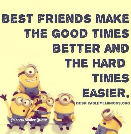 Top 30 Famous Minion Friendship Quotes #friends Minion