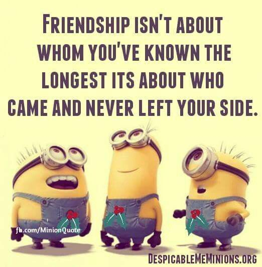Top 30 Famous Minion Friendship Quotes #minion