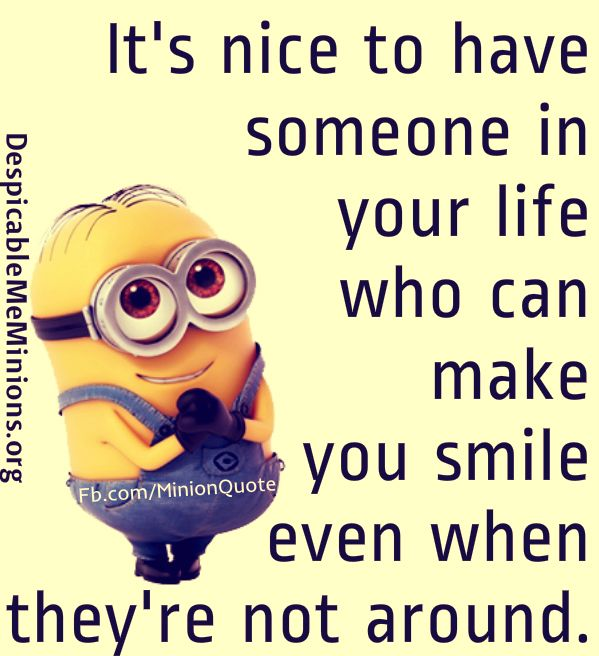 Quotes About Smile And Friendship Fair Top 30 Famous Minion Friendship Quotes  Quotes And Humor