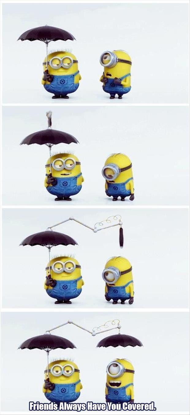 Top 30 Famous Minion Friendship Quotes #pictures