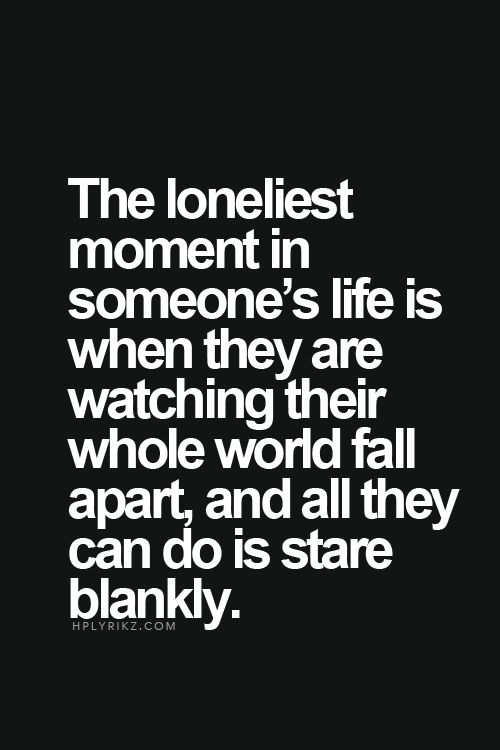 Lovely Life Quotes Sad