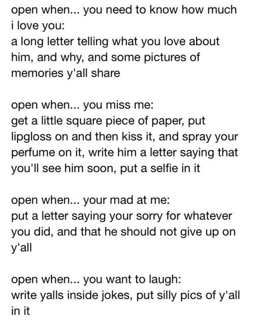 what to write in open when letters 20 great quotes for boyfriends quotes and humor 434