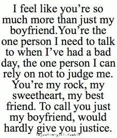 20 Great Quotes for Boyfriend #quotation