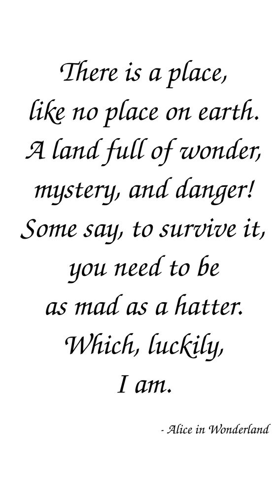 20 Inspiring Alice in Wonderland Quotes #inspiring