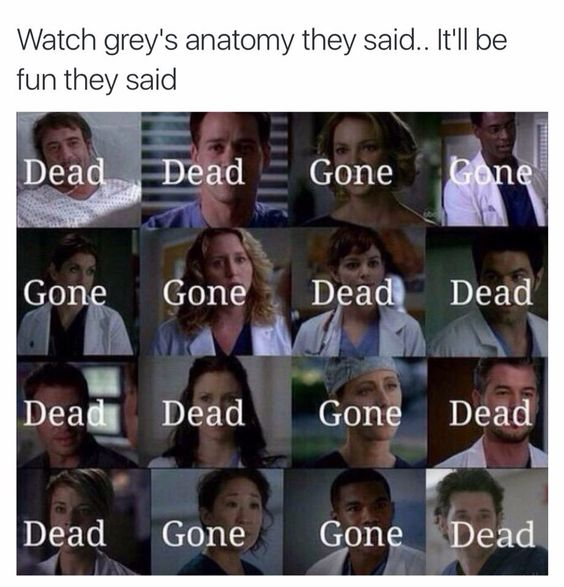 25 Funny Greys Anatomy Memes Quotes And Humor