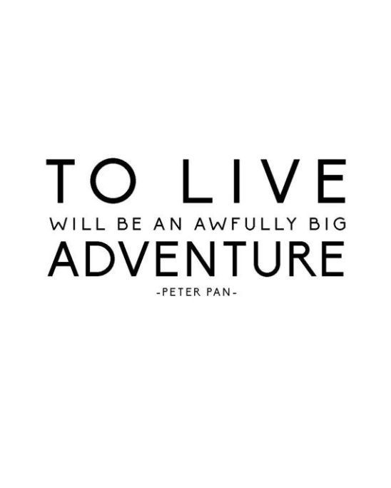 Inspirational Quotes About Positive: 25 Peter Pan Inspirational Quotes