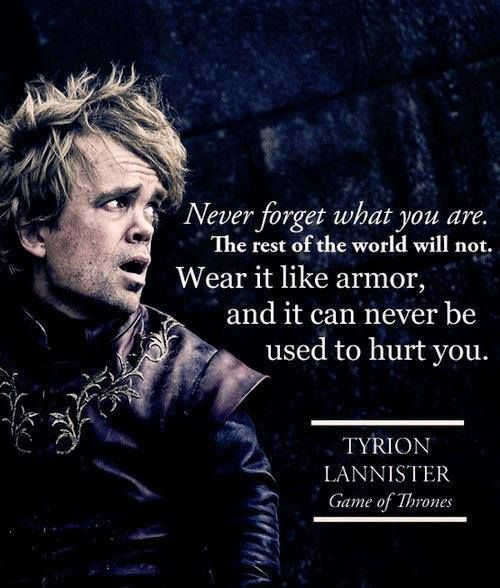 25 Inspiring Game of Thrones Quotes #Game of Thrones #Quotes