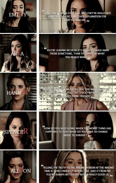 25 Pretty little liars Quotes  #Pretty Little Liars #Quotes
