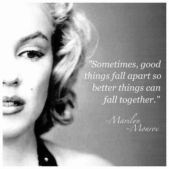 Marilyn Monroe Quotes Better Things Can Fall Together: Top 33 Marilyn Monroe Quotes