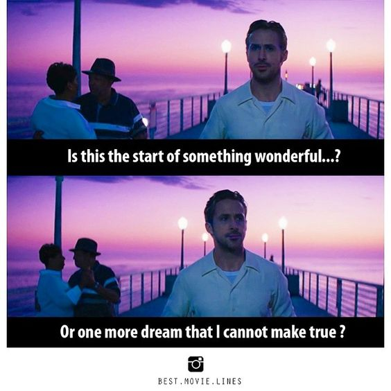 33 Famous la la land movie quotes #la la land #la la land quotes