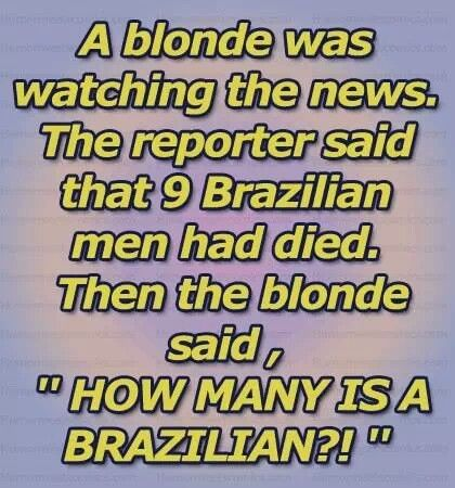 Hilarious Clean Blonde Jokes | www.pixshark.com - Images Galleries With A Bite!