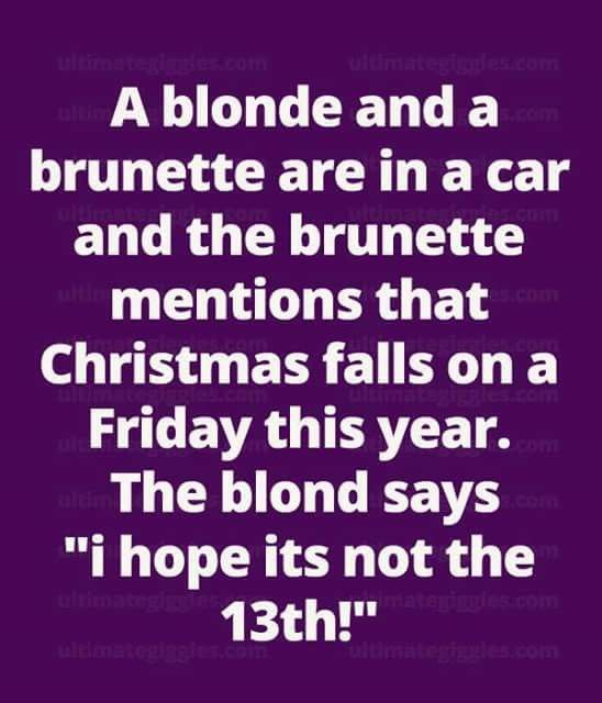 The funniest redhead brunette and blonde jokes
