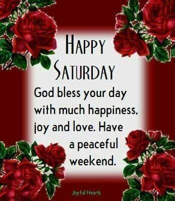 25 Happy Saturday Quotes