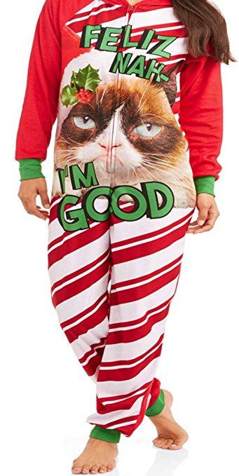 grumpy cat pajamas women