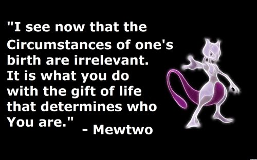 Top 20 Mewtwo Quote