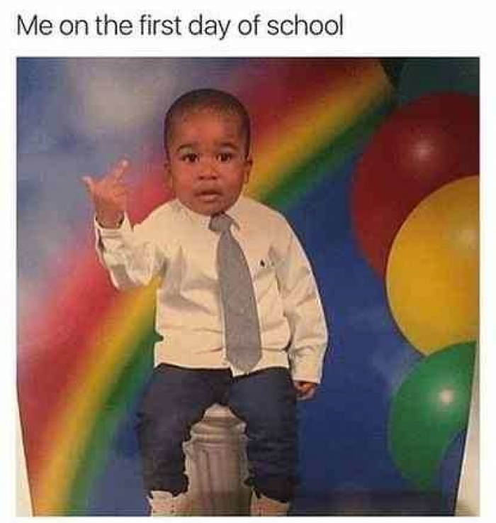 Top 27 First Day of School Memes