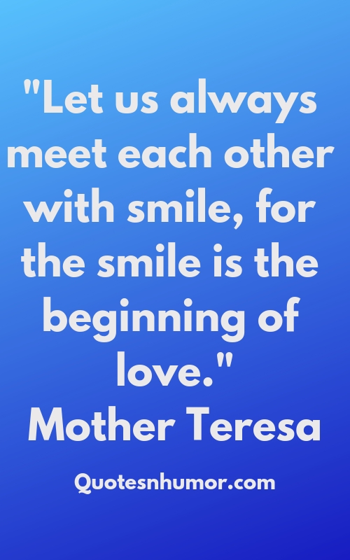 Top 20 Smile Quotes