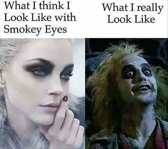 Top 20 Hilarious Funny Makeup Memes