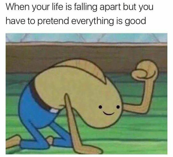 Top 22 Funny Memes about Life Falling Apart