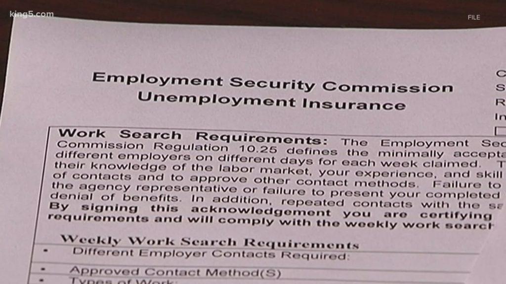 Washington Unemployment Hack