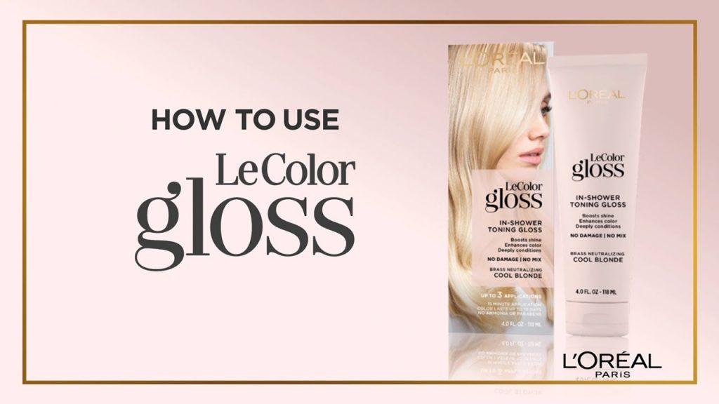 Le Color Gloss Reviews