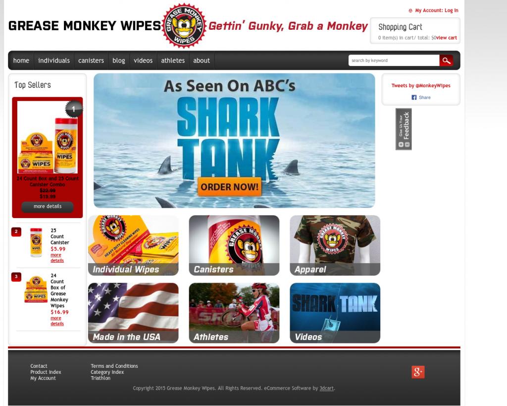 Grease Monkey Wipes Net Worth