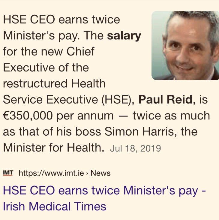 Paul Reid Hse Salary