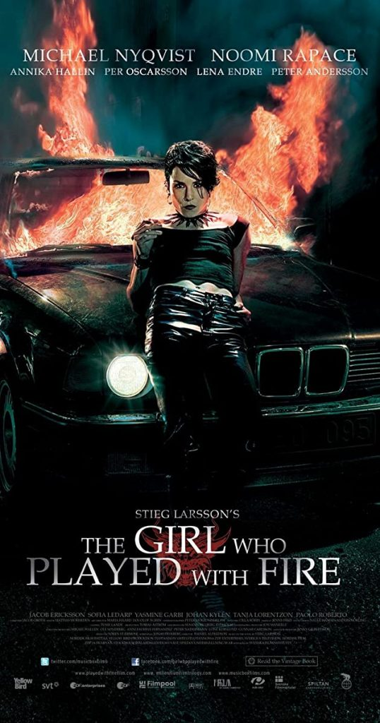 The Girl Who Played With Fire Author