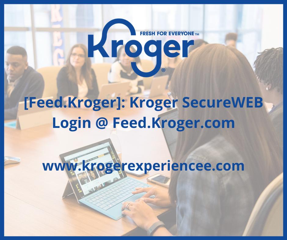 Feed Kroger .Com
